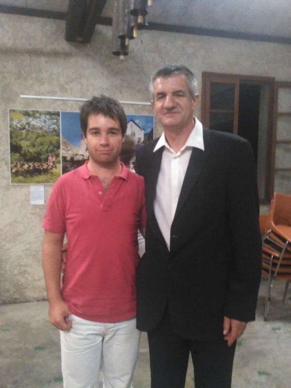 Jean Lassalle et Bastien Corsini